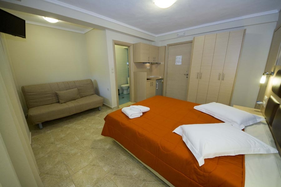 Chalkidiki  Nea Plagia  Greece Hotels  Studios & Apartments with fully equipped kitchen